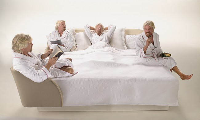 Virgin Hotels' new patented bed