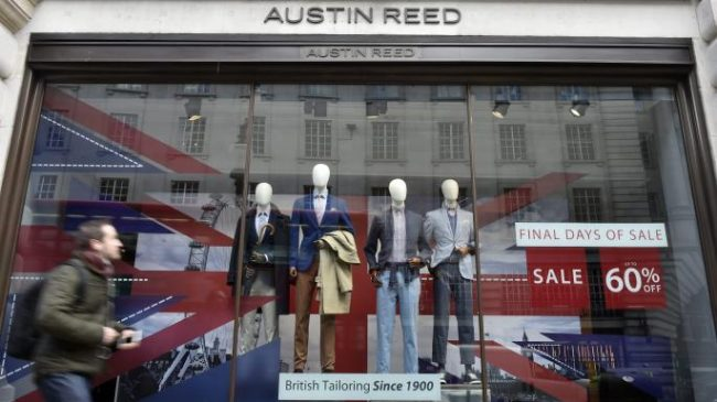 Austin Reed To Shut Stores And Cut 1 000 High Street Jobs
