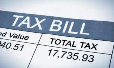 tax bill credit card