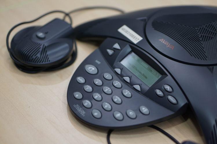 avaya conference phone