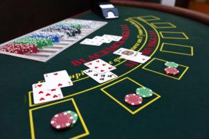 Blackjack with a Live dealer
