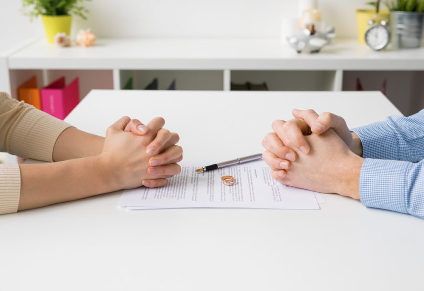 divorce and business