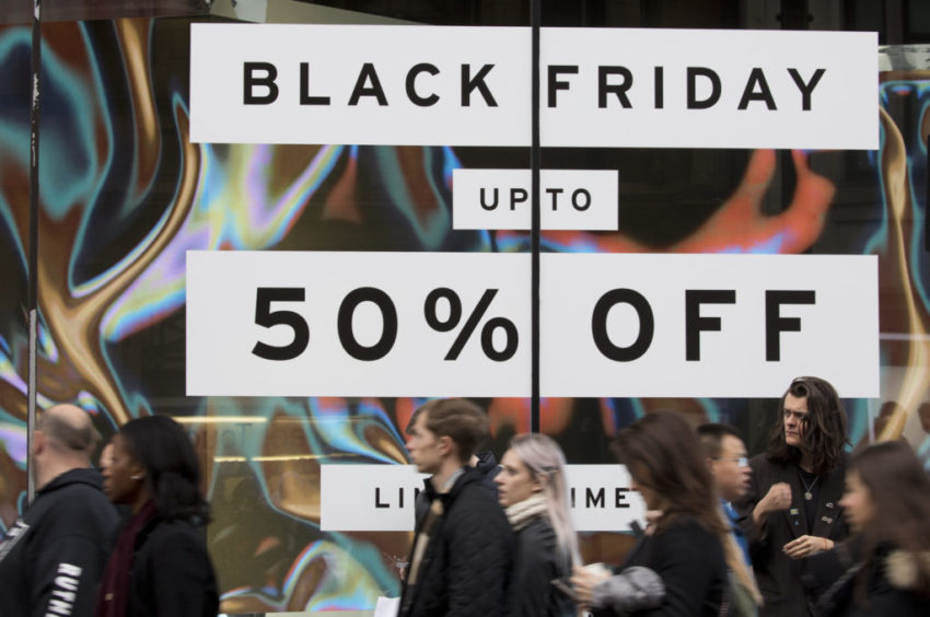 Second national lockdown to drive Black Friday sales down 20 per cent
