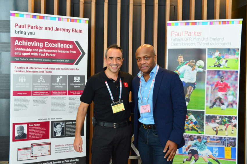 Retired footballer Paul Parker tells Business Matters who he admires and what defines his way of doing business