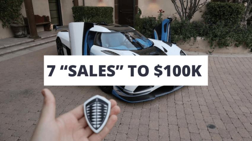"Parallel Profits 7 ""SALES"" TO $100K"