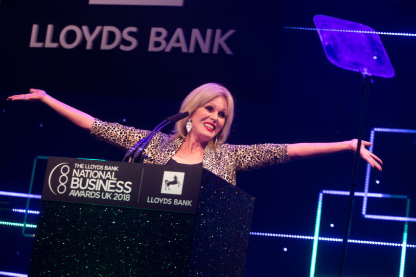 Lloyds Bank National Business Awards 2018.
