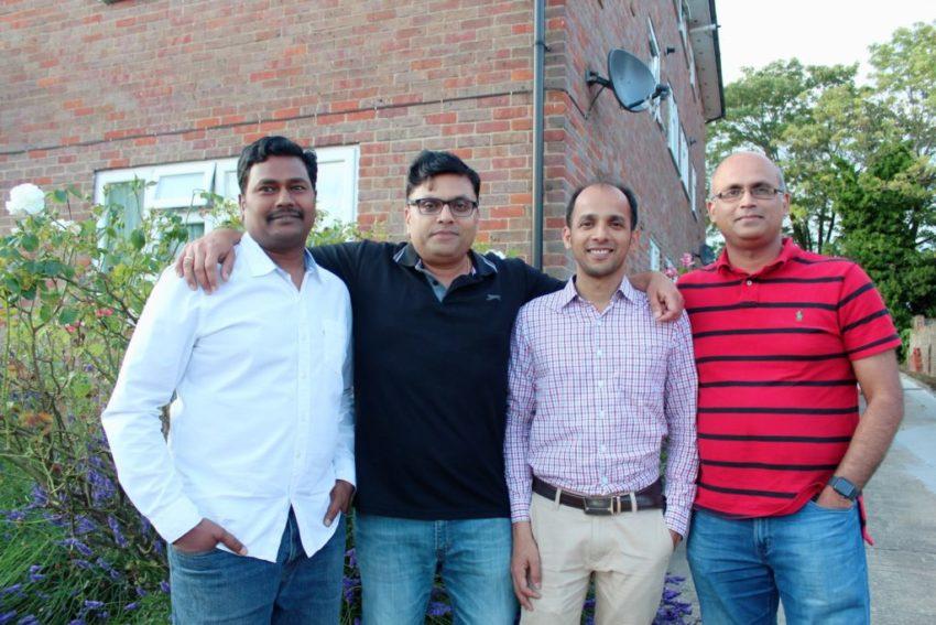 Code Ninjas Harrow & Pinner - (L-R) Srinivasa, Prasad, Sridhar & Sharath