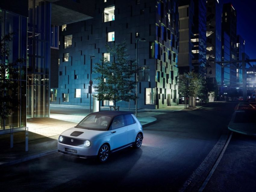 Honda electric plan