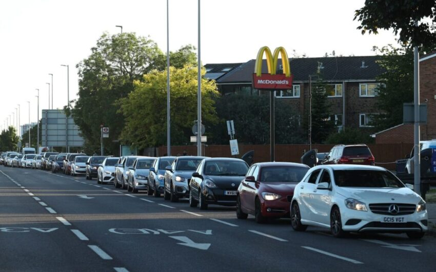 McMadness predicted as McDonalds open all drive-thru's ...