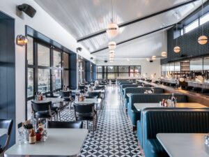 The restaurant at Javad Marandi's new budged-chic hotel chain