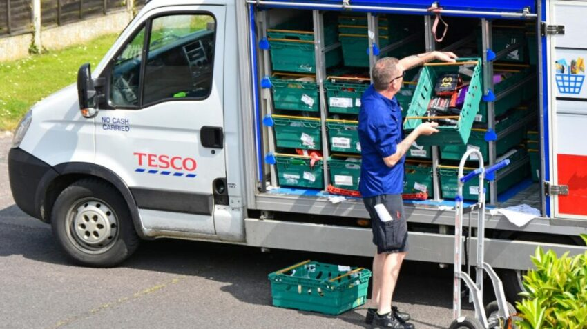 Tesco delivery
