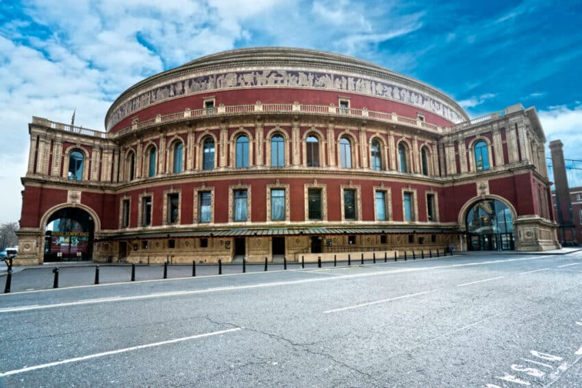 The Royal Albert hall, London, UK.