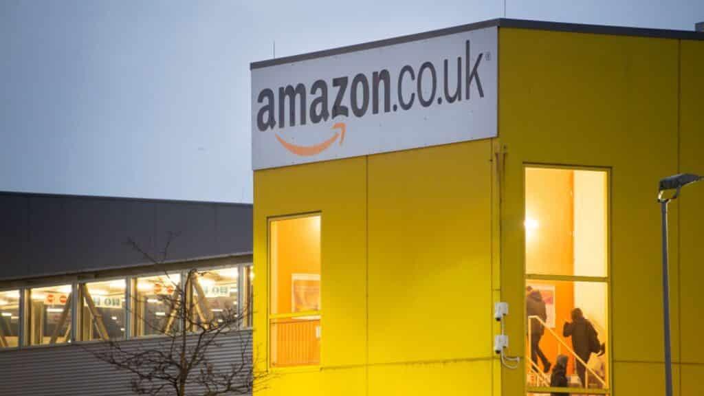 amazon swansea warehouse