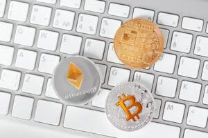 Digital Currency. Cryptocurrency Coin