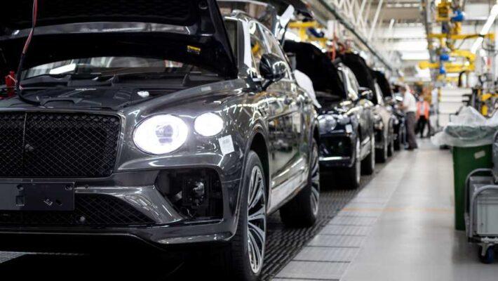 Bentley manufacture