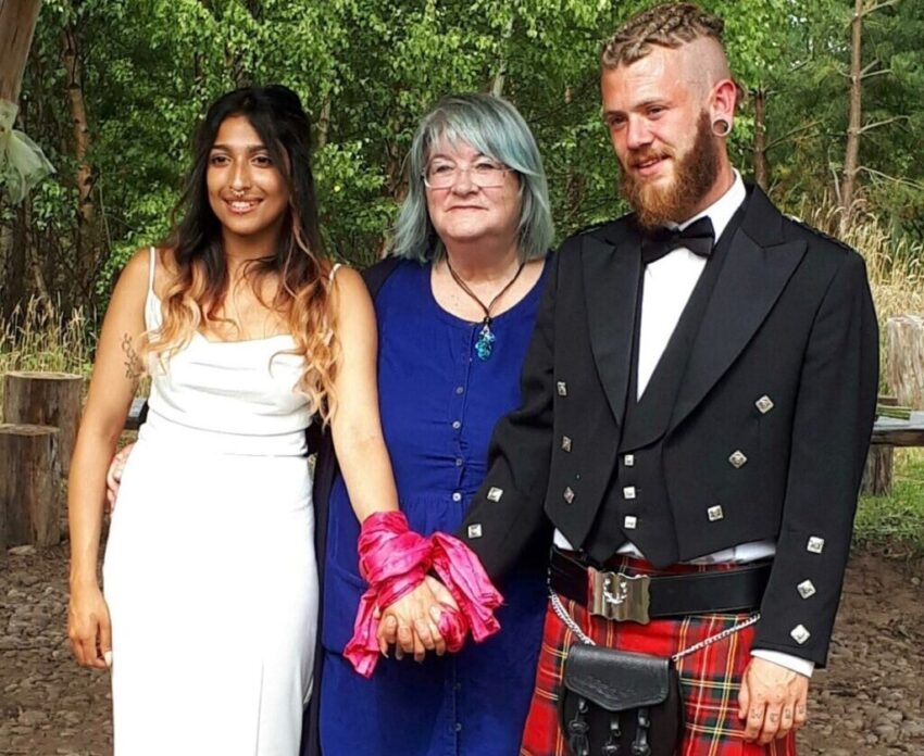 traditional handfasting