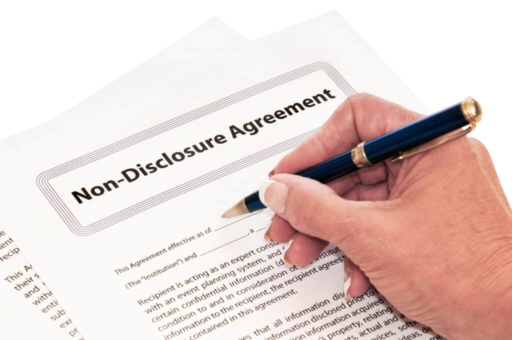 Why is it important to use Non-Disclosure Agreements?