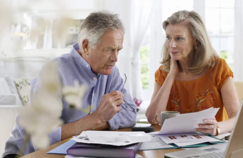 worried over debts