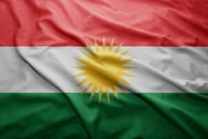 Kurdistan flag