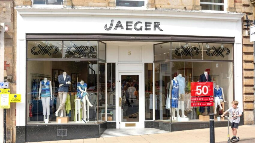 M S Buys Jaeger To Boost Fashion Aisle
