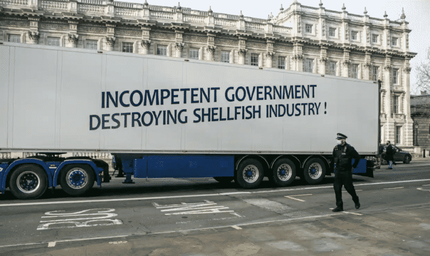 Seafood demonstration