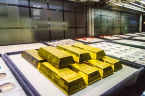 Bank of England Gold reserves