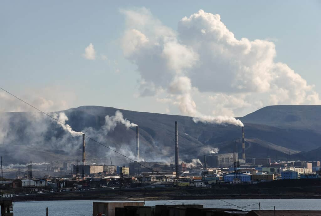 Russian Norilsk Nickel will reduce sulfur dioxide emissions by 95%