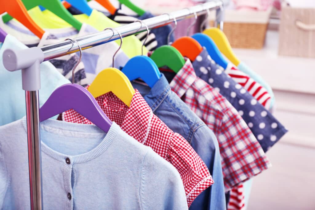 How big is the market for children's clothing?