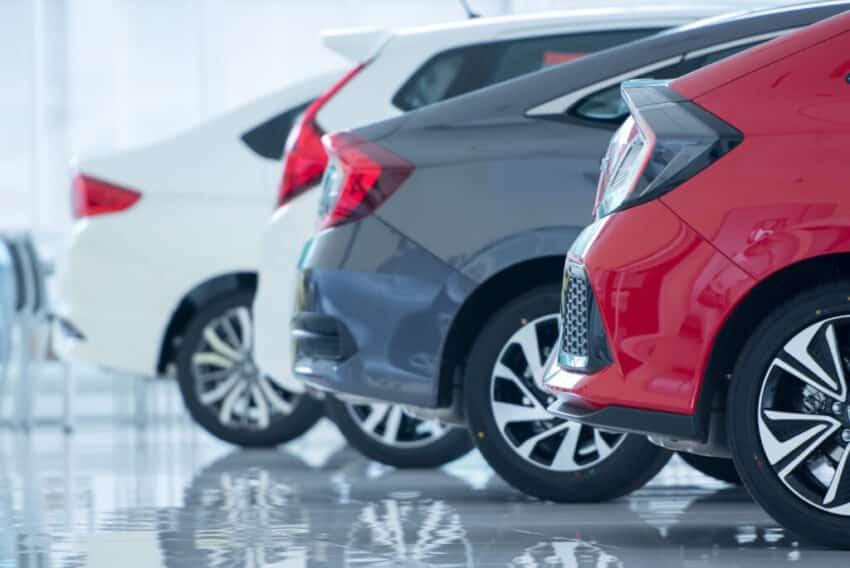 New car sales