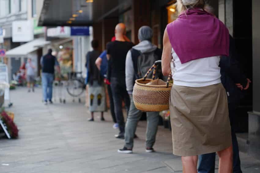 Covid shopping