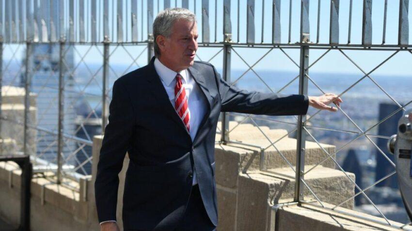 NYC Mayor Di Blasio