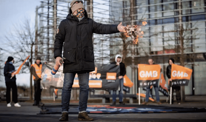 GMB British Gas Strikes