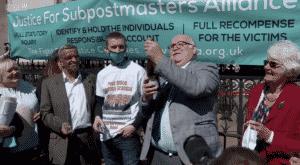 Sub postmasters