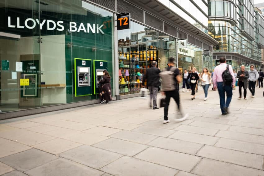 Lloyds Bank charges