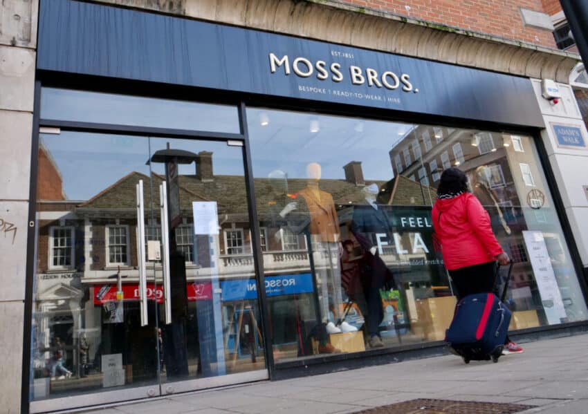 Moss Bros launches wardrobe rental service for generation rent