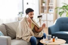Calling in sick