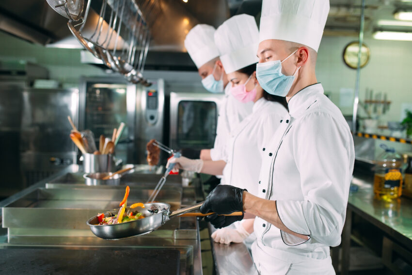 Chefs covid