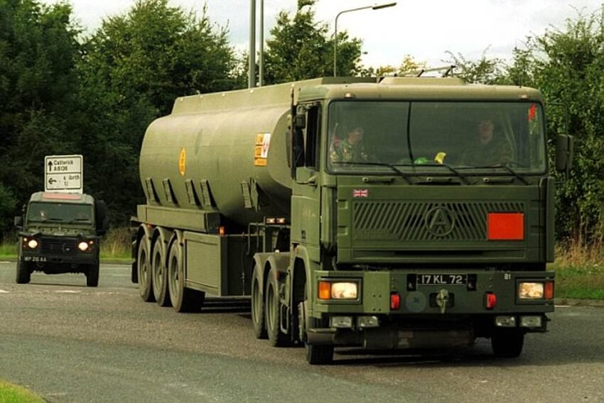 Army Tankers