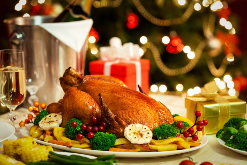 Christmas turkey dinner at threat