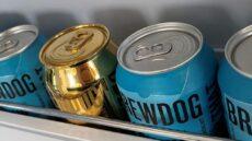Brewdog gold can