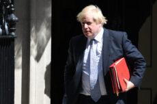 Boris Johnson and Jacinda Ardern