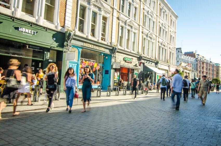British High Street job losses