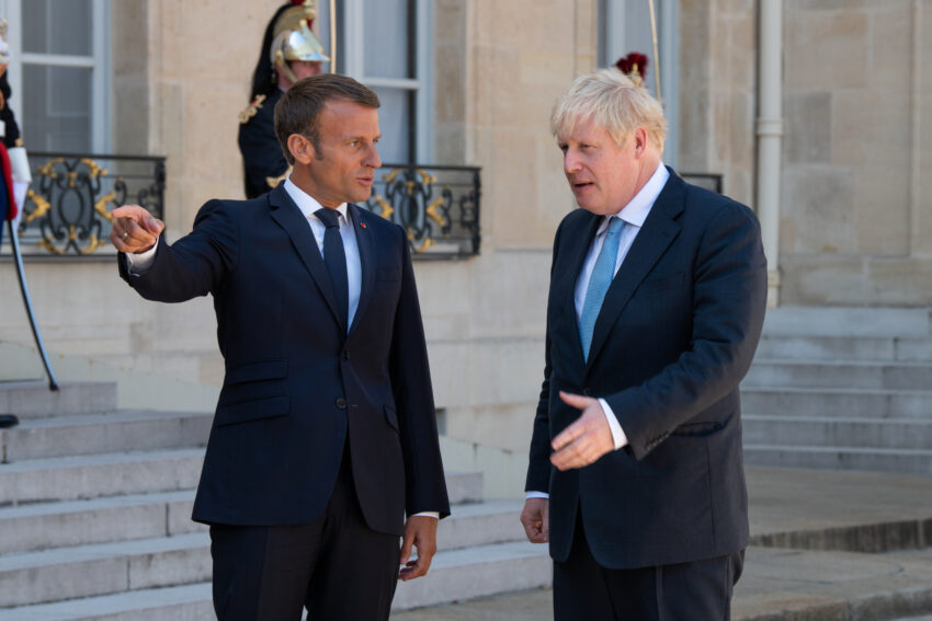 Boris Johnson has announced almost £10 billion of overseas investment in Britain before a global summit in an attempt to trump Emmanuel Macron's efforts to lure businesses to France.