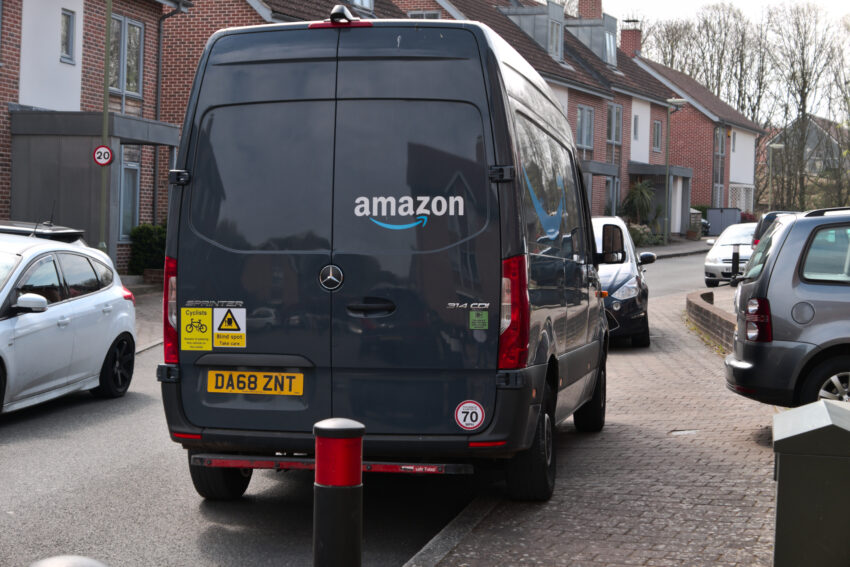 Amazon delivery drivers