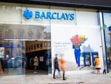 Barclays Bank branch closures