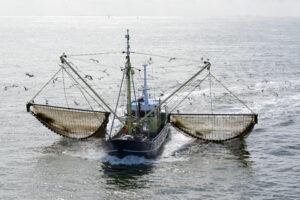 French fishing trawler